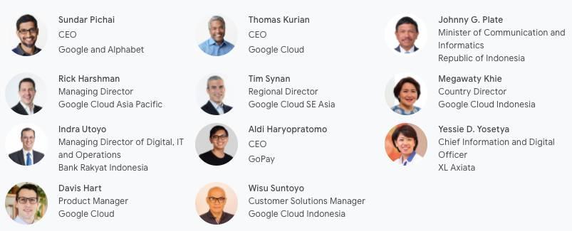 Pembicara pada Google Cloud Region Jakarta