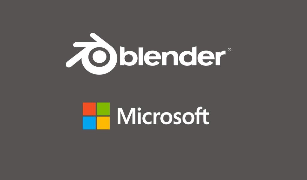 Microsoft Bergabung dalam Blender Development Fund