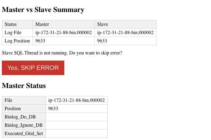 Simulasi Terjadinya Replication Lag pada Slave