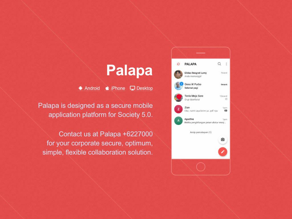 Aplikasi percakapan Palapa