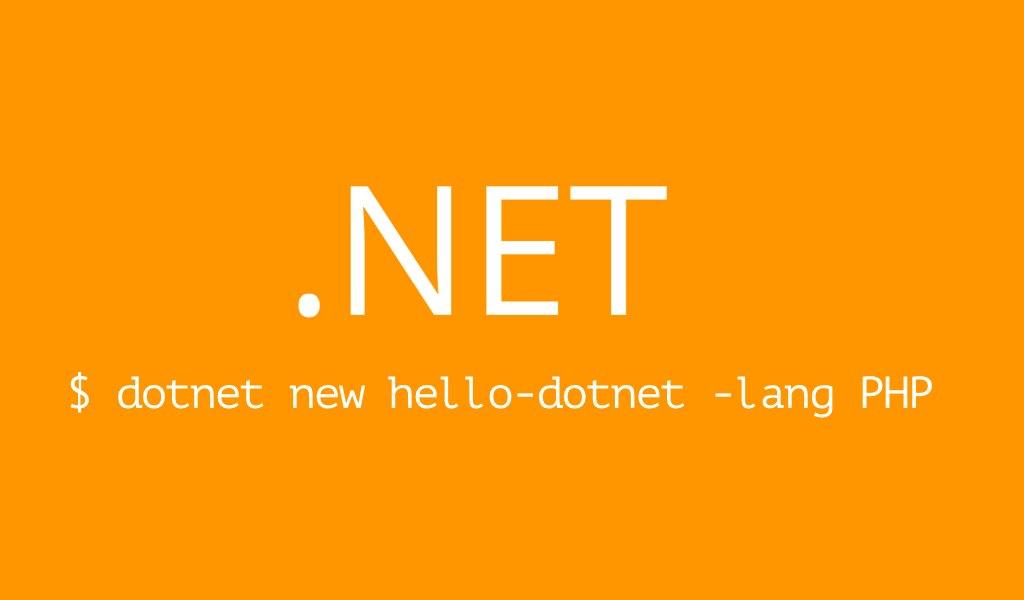 Menjalankan PHP pada .NET Core