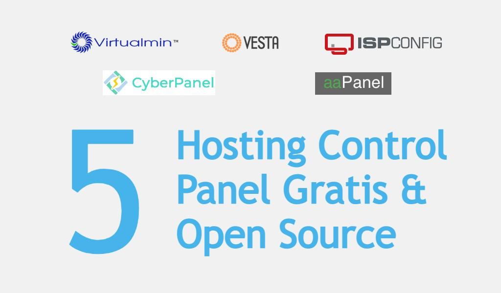 5 Hosting Control Panel Gratis dan Open Source