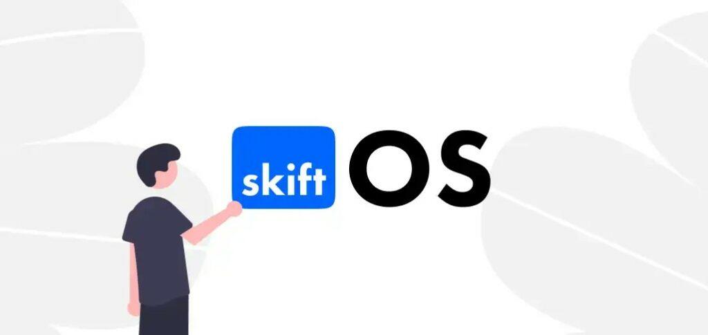 Mencoba sistem operasi SkiftOS