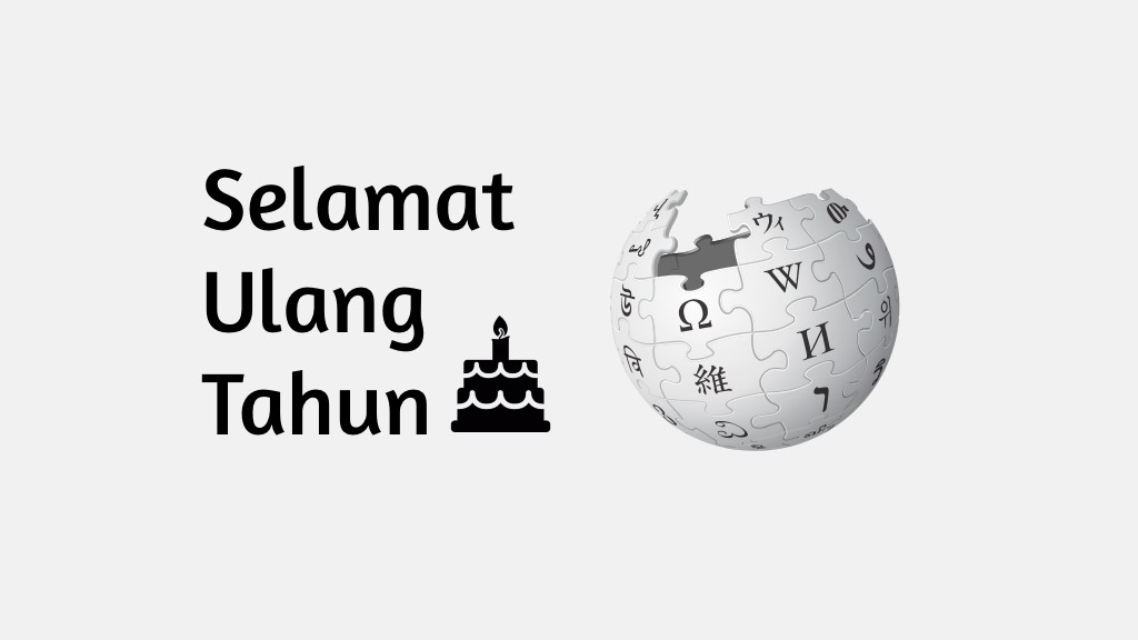 Ulang Tahun Wikipedia
