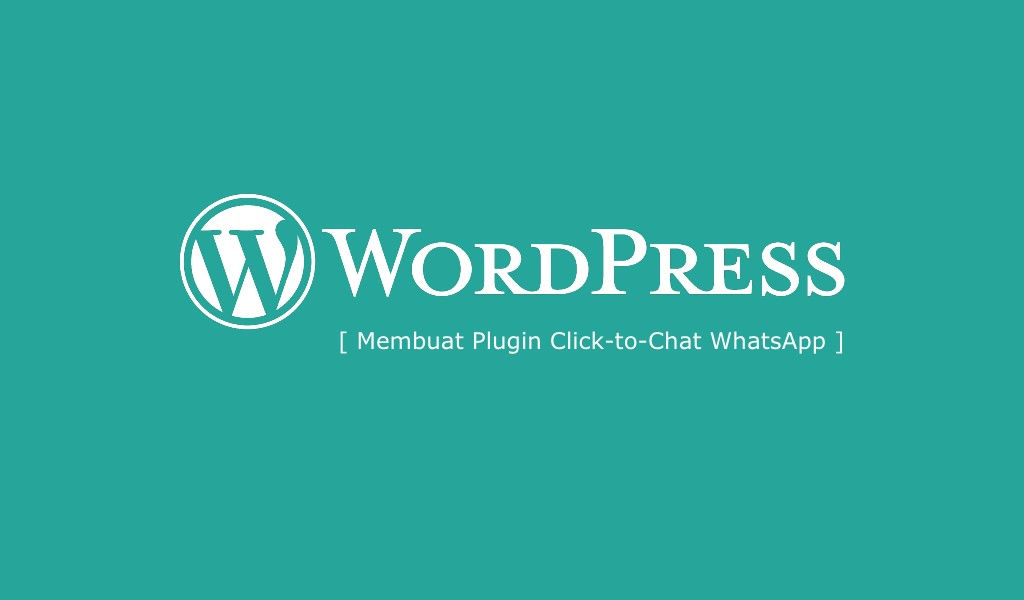 Membuat Plugin WordPress WhatsApp