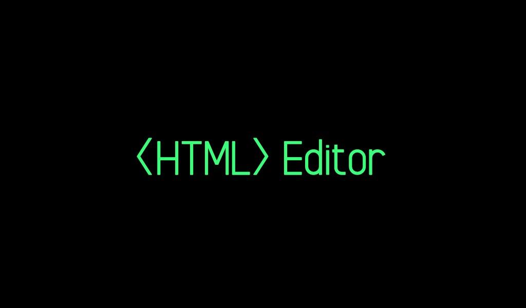 Rilis HTML Editor Manual Preview